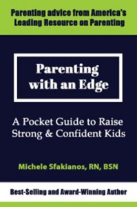 Parenting with an Edge Book Cover